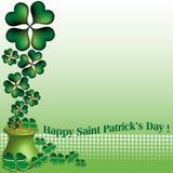 Le jour heureux de Patrick de saint Photos libres de droits