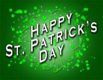 Le jour heureux de Patrick de saint Images libres de droits