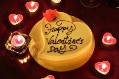 Le jour heureux de Valentine Photos stock