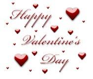 Le jour heureux de Valentine Image stock