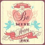 Le jour heureux de Valentine Photographie stock libre de droits