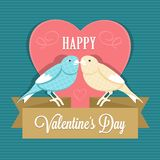 Le jour heureux de Valentine illustration stock