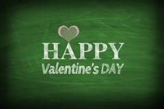 Le jour heureux de Valentine Image libre de droits