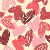 Le jour heureux de Valentine Configuration sans joint Image libre de droits