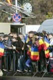 Le jour national de la Roumanie Image stock