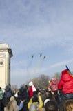 Le jour national de la Roumanie Images stock