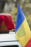 Le jour national de la Roumanie Photographie stock