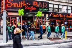 Le jour NYC de St Patrick photographie stock