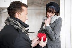 Le jour ou l'anniversaire de Valentine Photo libre de droits