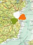 Le jour/oxalide petite oseille de St Patrick Photo libre de droits