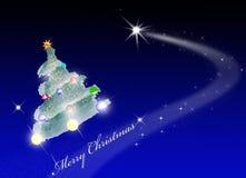 le joyeux espace de Noël Photographie stock