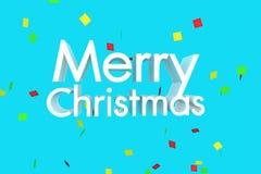 Le Joyeux Noël célèbrent Photographie stock libre de droits