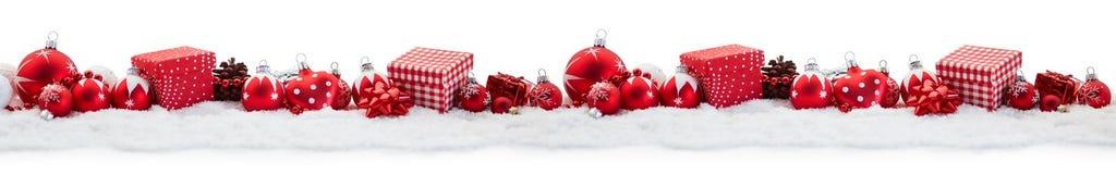 Le Joyeux Noël a décoré le fond photographie stock libre de droits