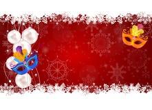 Le Joyeux Noël de beauté abstraite et la nouvelle année font la fête des WI de fond Photo stock
