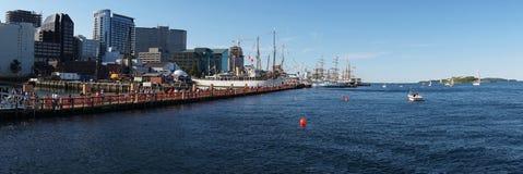 Le juillet 2009 c'est un point culminant annuel tous les ans ici dans la ville de port de Halifax Photo libre de droits
