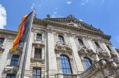 Le Justizpalast Munich, palais de justice, Allemagne Image stock