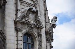 Le Justizpalast Munich, palais de justice, Allemagne Images libres de droits