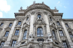 Le Justizpalast Munich, palais de justice, Allemagne Photographie stock