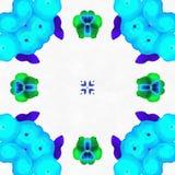 Le kaléidoscope de batik couvre de tuiles l'amour Photos libres de droits