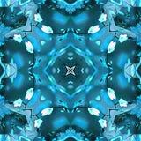Le kaléidoscope de batik filtre la dentelle Photos stock