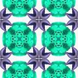 Le kaléidoscope de batik jaillissent je Image libre de droits