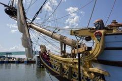 Le Kalmar Nyckel Image libre de droits