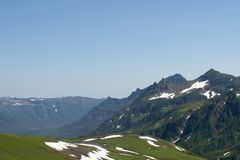 Le Kamtchatka Photos stock
