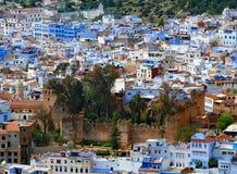 Le Kasbah de Chefchaouen, Maroc, en mars 2017 image stock