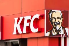 Le Kentucky Fried Chicken Restaurant Sign photo libre de droits