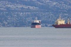 Le kilogramme Coen Anchored à Vancouver, Canada Images stock