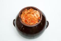 Le kimchi de la Corée du Sud Images libres de droits