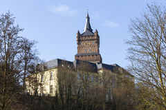 Le kleve Allemagne de château de schwanenburg Images stock