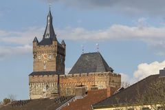 Le kleve Allemagne de château de schwanenburg Photo libre de droits
