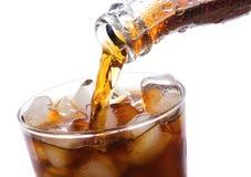Le kola se renverse dans la glace Photographie stock