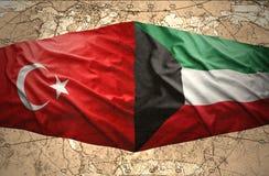 Le Kowéit et la Turquie Photos libres de droits
