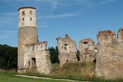 le kremenec de château ruine l'Ukraine Photos libres de droits