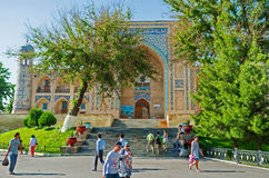 Le Kukeldash Madrasah Image libre de droits
