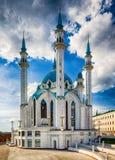 Le Kul Sharif Mosque est celui des plus grandes mosquées en Russie photo libre de droits