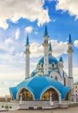 Le Kul Sharif Mosque est celui des plus grandes mosquées en Russie photographie stock
