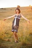 Le kvinna Royaltyfria Foton