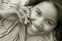 le kvinna Royaltyfri Foto