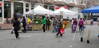 Le légume et le marché de fruits photos stock