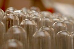 Le laboratoire biochimique de tubes Image stock