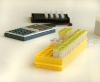 Le laboratoire biologique images stock