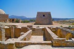 Le labyrinthe du Minotaur, Crète Photo stock
