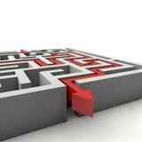 Le labyrinthe Image libre de droits