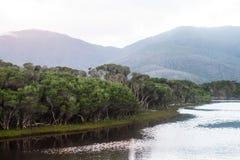 Le lac Image libre de droits