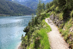 Le lac Achensee dans le Tirol, Autriche Photo libre de droits