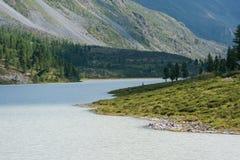 Le lac Akkem Images libres de droits