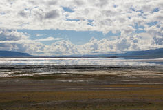 Le lac au Thibet Photos libres de droits